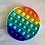 Thumbnail: Rainbow Bubble Popper - Circle