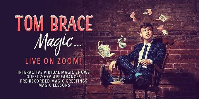 Tonight With Tom Brace Magic: A Magic, Task Show Experience!