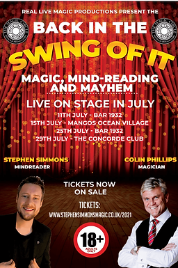 Back In The Swing Of It With Stephen Simmons and Colin Phillips