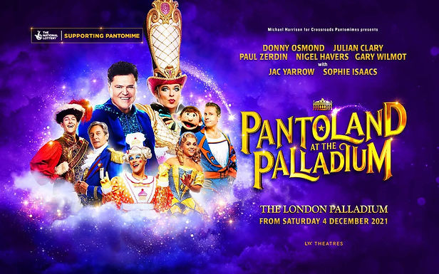 Pantoland at The Palladium With Paul Zerdin