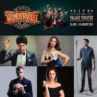 Wonderville Guest Performers