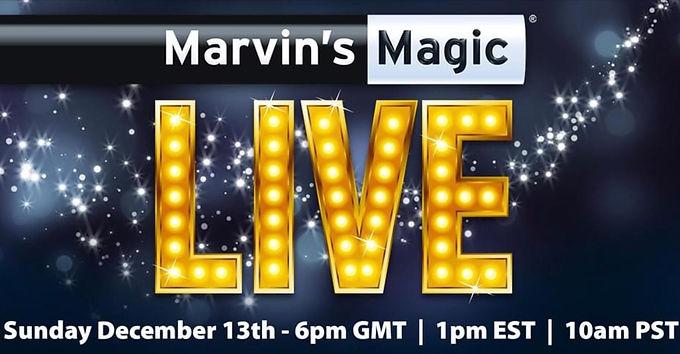 Marvin's Magic Live