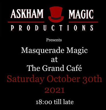 Masquerade Magic At The Grand Cafe