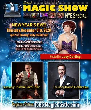 Shawn Farquhar New Years Eve Show
