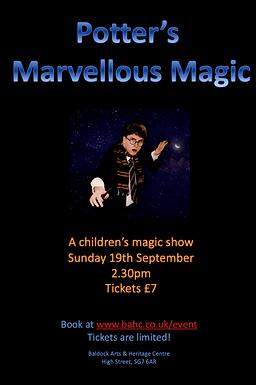 Potter's Marvellous Magic Show