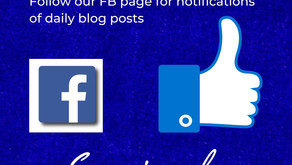 Follow Our FaceBook Page For Notifications