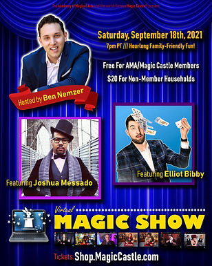 Elliot Bibby At The Magic Castle