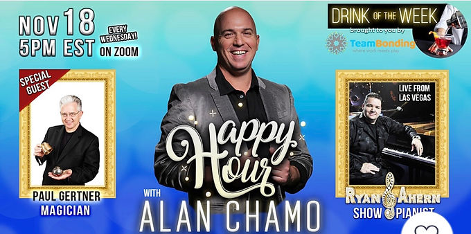 Weekly Alan Chamo Online Show Announced