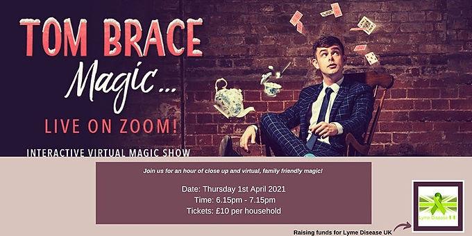 Tom Brace Magic... Zoom Magic Show