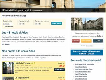 Un nouveau site pour rechercher un hebergement sur Arles