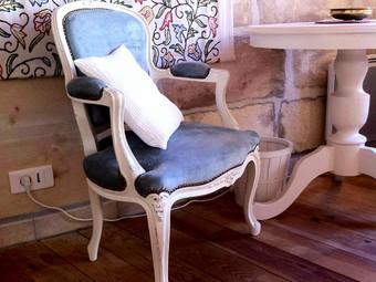 Deux nouveaux fauteuils pour Eloise