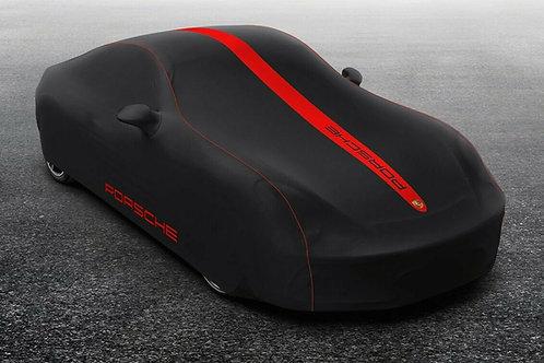 New Genuine Porsche 982 718 Boxster Black & Red Indoor Car Cover 982 044 000 07