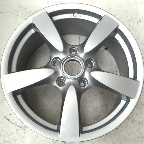 "Porsche Cayman S 8x18"" Refurbed \Front Alloy Wheel"