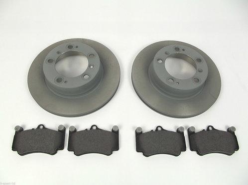 Porsche Cayenne Turbo Pagid Front Brakes Disc Pads
