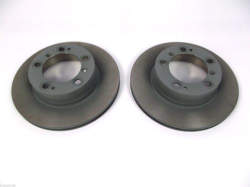 Porsche Cayenne Rear Pagid Brake Discs 3.2 4.5