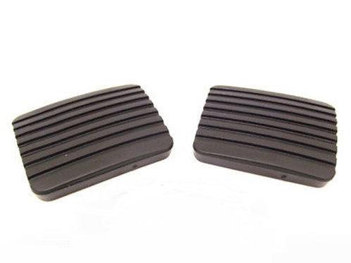 Porsche 924 944 Clutch & Brake Pedal Rubber Caps