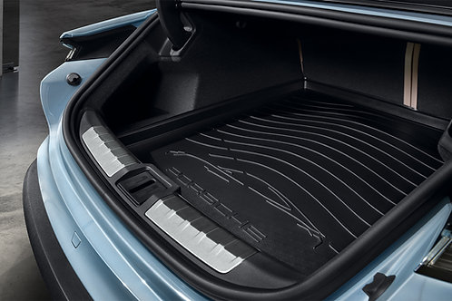 New Genuine Porsche 9J1 Taycan Rear Luggage Compartment Liner Mat