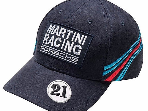 Porsche Drivers Selection Dark Blue Martini Racing Baseball Cap Hat
