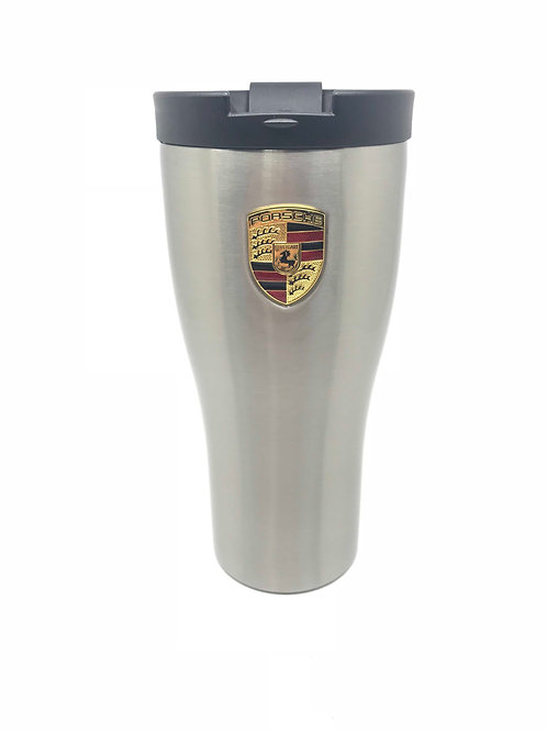 Genuine Porsche Drivers Selection Stainless Steel Thermal Beaker