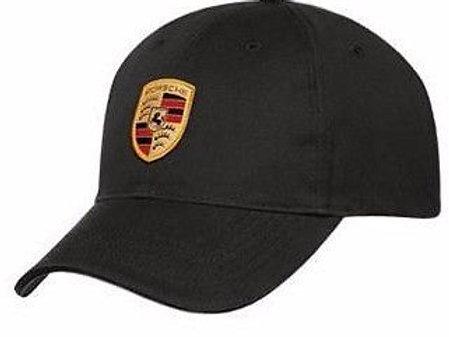 Porsche Drivers Selection Black Crest Baseball Cap Hat