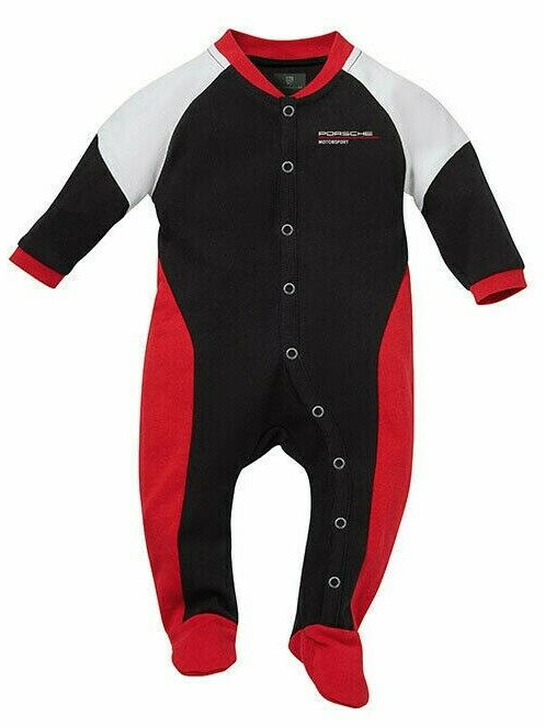 Genuine Porsche Drivers Selection My First Race Suit Baby Grow Babygrow