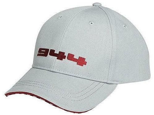 Porsche Drivers Selection 944 Baseball Cap Grey & Red