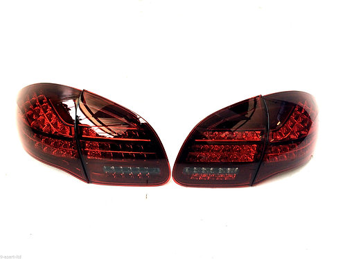 Porsche Cayenne 958 Smoked Rear Lights Set