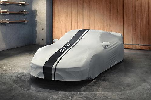 Indoor car cover 718 Cayman GT4 Design