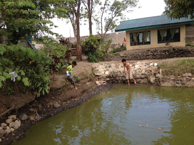 Generoso fish pond