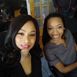 Actress Nadine Bone & Teisha Speight