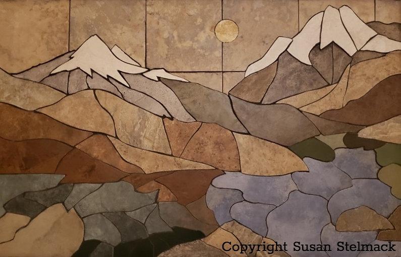 Susan Stelmack two mountains mosaic_edit