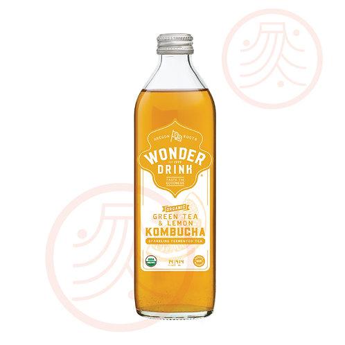 Sparking Fermented Tea- Green Tea & Lemon (3 bottles)