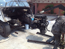 Desinstalación del motor