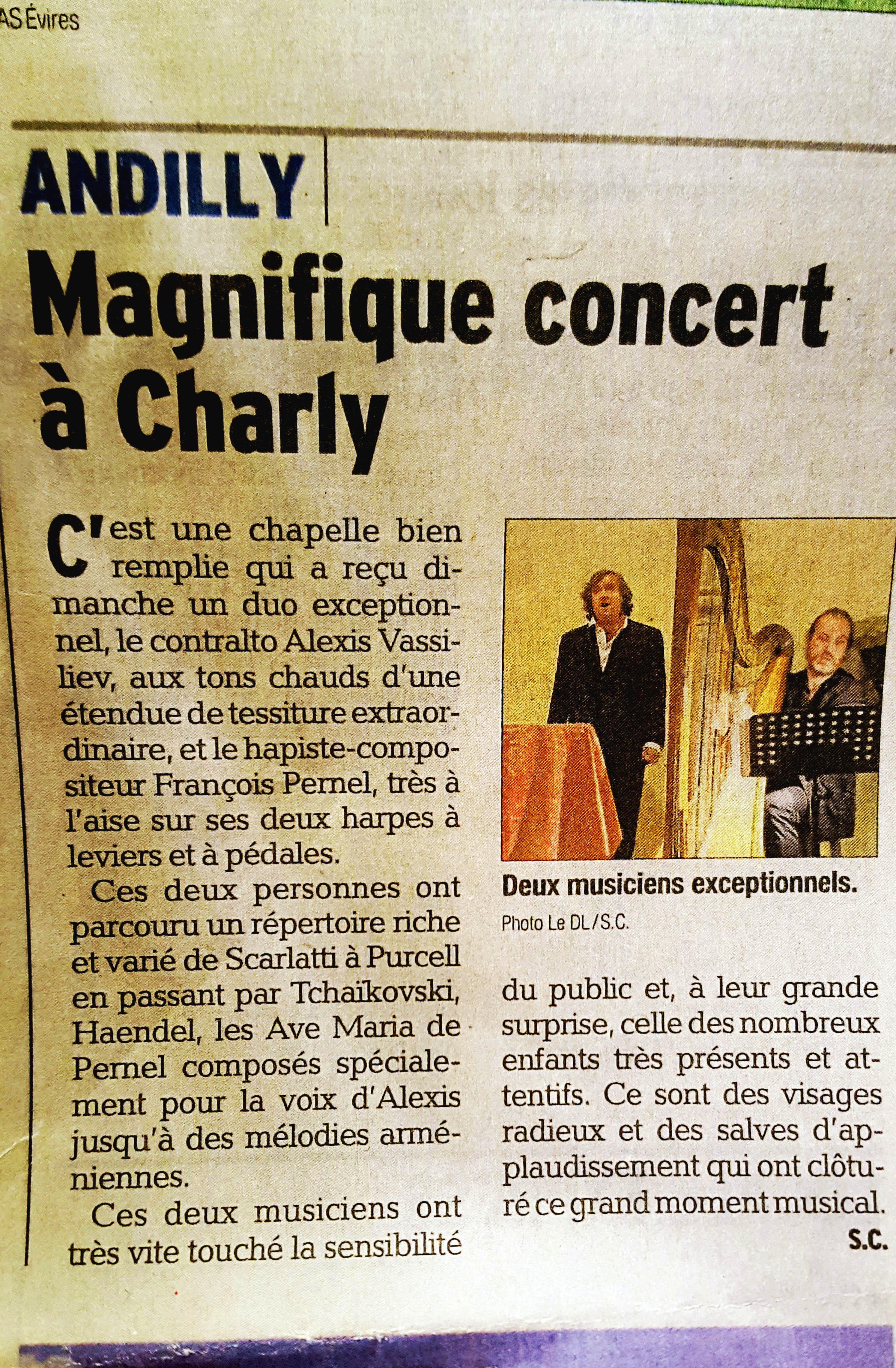 Concert à Charly