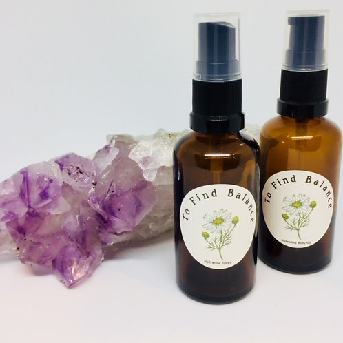 Personalised Nourishing Body Oil PLUS Hydrating Spray