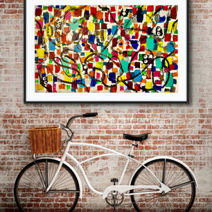 Graffiti Love Affair (SOLD)