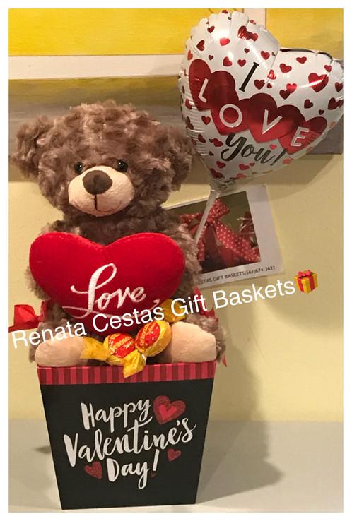 Love Valentine S Gift Basket