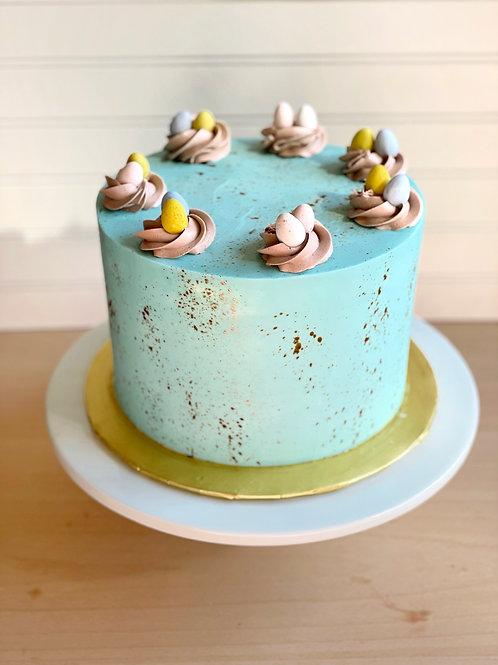 Chocolate Speckled Egg Cake