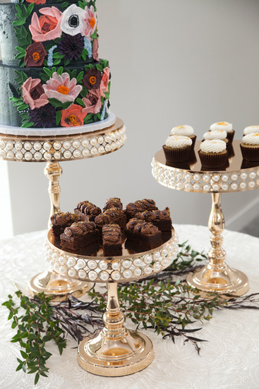 brownies and cupcakes