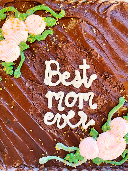 RESTOCK Mother's Day BROWNIE Snack Cake