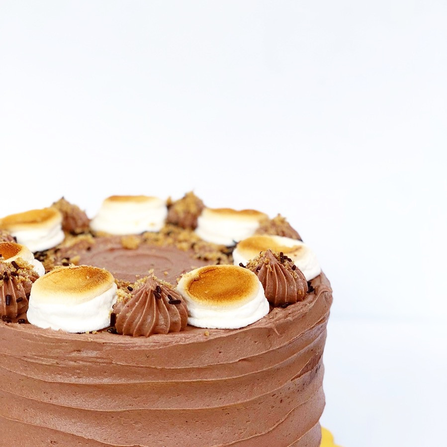 smores cake 8 in $65