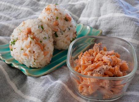 手作り鮭フレークで美味しさup!!
