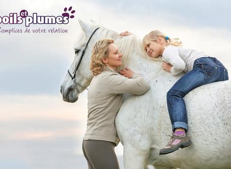 Le cheval comme thérapeute.