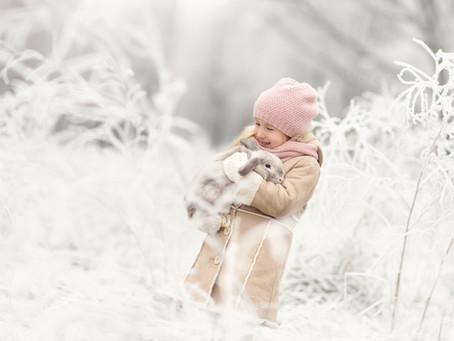 Est - ce que mon lapin peut rester dehors en hiver ?