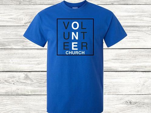 One Church Volunteer Tee