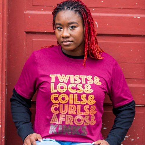 Twists & Locs Tee