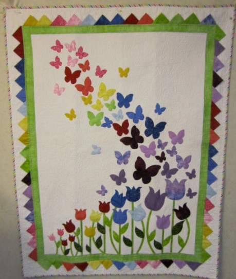 Blooming Butterflies Mesmerizing Butterfly Quilt Pattern
