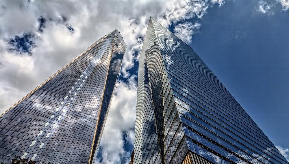 skyscraper, office, financial services, virtual assistants