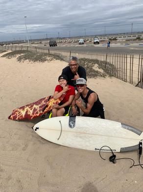Surfing with Kumaka!