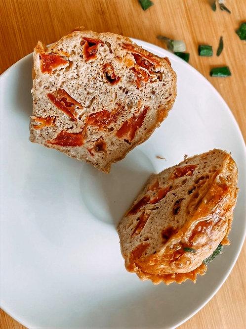 Muffin Low Carb sabor Tomate Assado com Queijo